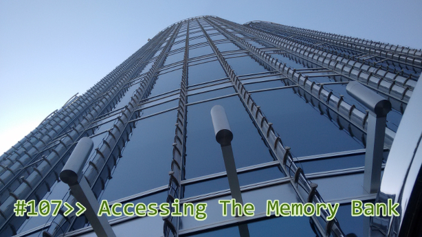 Accessing The Memory Bank
