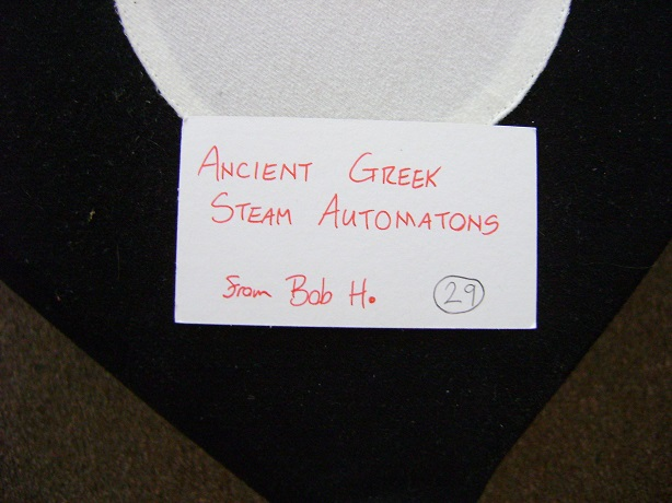 Ancient Greek Steam Automatons