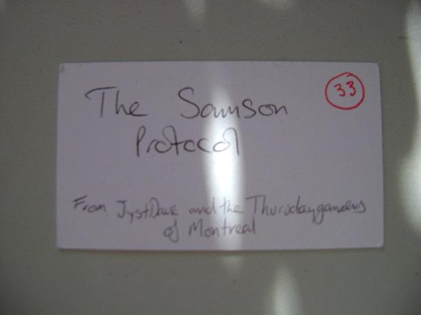 The Samson Protocol