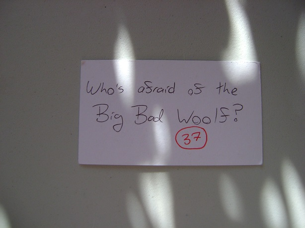 Who's Afraid Of The Big Bad Woolf?