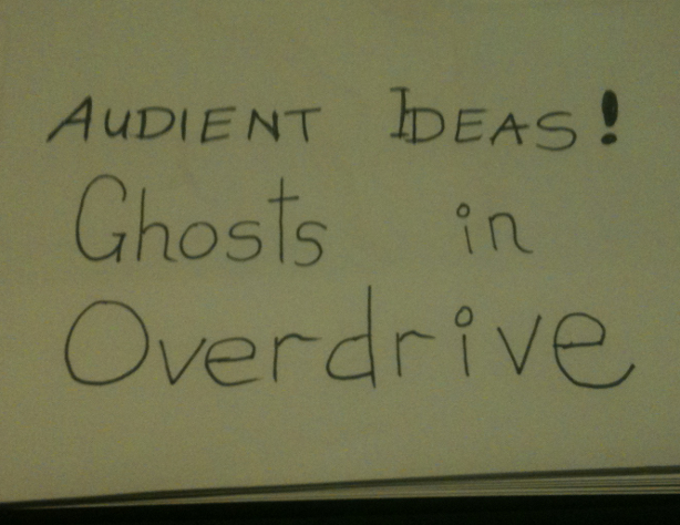 Audient Ideas - Ghosts In Overdrive
