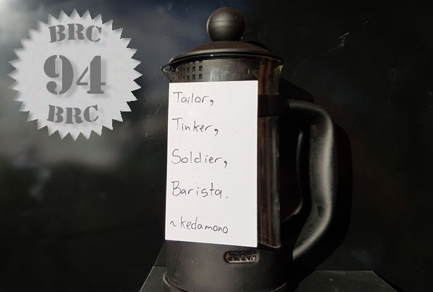 Tailor Tinker Soldier Barista