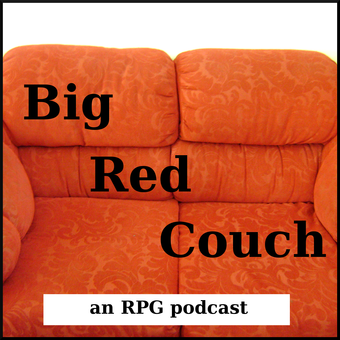 The Big Red Couch logo