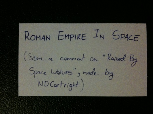 Roman Empire In Space!